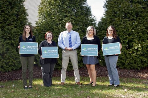(L to R) Morganne Cook, Deanna McGreevy, Joey Smith, Lauren Imoto and Lyza Schullo.