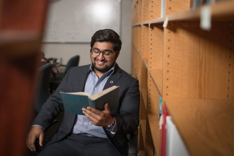 Recent APSU graduate Waqas Ahmed was a pre-professional student at APSU.