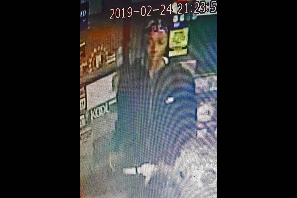 Clarksville Police are trying to identify the person in this photo in connection to a stolen vehicle.