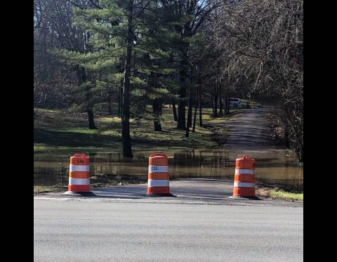 Acuff Road closed until further notice. (Clarksville Street Department)