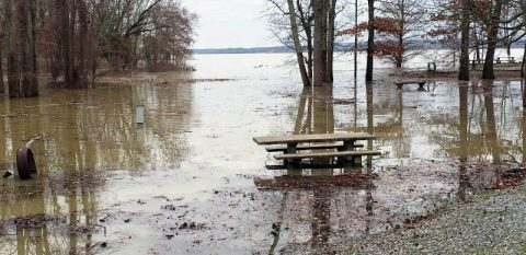 Flooding at Land Between the Lakes causes closures of some trails and campgrounds.