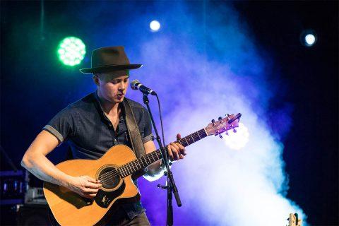 Twenty-six-year-old Australian Joe Robinson, world-class virtuoso guitarist and singer/songwriter will perform on February 12th.