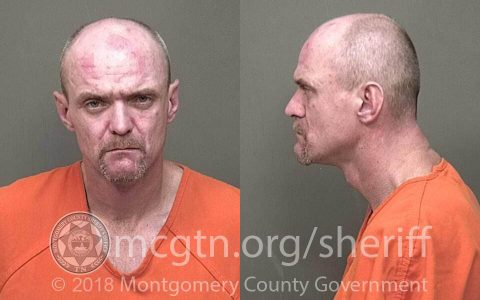 Clarksville Police arrest Michael Hunter for Vehicle Burglary.