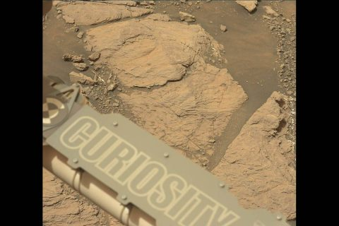 """NASA's Curiosity Mars took this image with its Mastcam on Feb. 10, 2019 (Sol 2316). The rover is currently exploring a region of Mount Sharp nicknamed """"Glen Torridon"""" that has lots of clay minerals. (NASA/JPL-Caltech/MSSS)"""