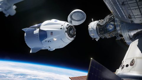 NASA and SpaceX are proceeding with plans to conduct the first uncrewed test flight of the Crew Dragon on a mission to the International Space Station. Launch is scheduled for 1:48am CST Saturday, March 2nd, 2019. (NASA)