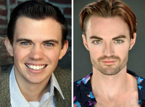 "Ryan Bowie and Ian Alexander Erbe star in ""Girlfriend"" in the Roxy Regional Theatre's theotherspace, February 25th - March 5th."