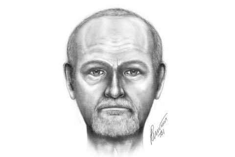 This is a sketch of the Deceased Person the Tennessee Bureau of Investigation is trying to identify.