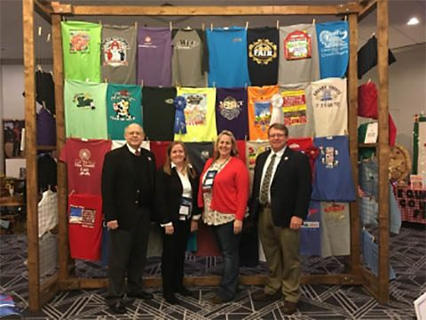 Tennessee Department of Agriculture honors Fairs across Tennessee at 97th Annual Convention of the Tennessee Association of Fairs.