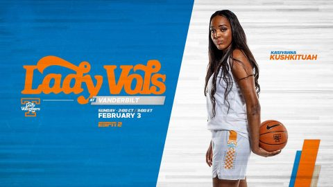 Tennessee Women's Basketball takes on rival Vanderbilt Commodores Sunday at Memorial Gymnasium. (UT Athletics)