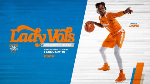 Tennessee Women's Basketball hits the road Sunday to take on Mississippi State. (UT Athletics)