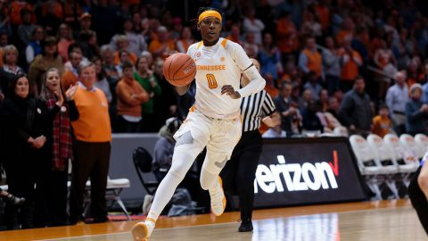 Tennessee Women's Basketball sophomore Rennia Davis scores a season high 29 points in loss at #6 Mississippi State. (UT Athletics)