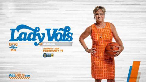 Tennessee Women's Basketball plays Auburn Thursday night at Thompson-Boling Arena. (UT Athletics)