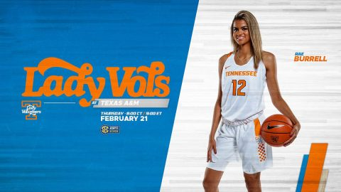 Tennessee Women's Basketball plays Texas A&M Wednesday night at Reed Arena. (UT Athletics)