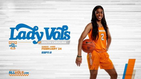 Tennessee Women's Basketball hosts South Carolina Sunday afternoon at Thompson-Boling Arena. (UT Athletics)