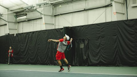 Austin Peay Men's Tennis hosts Carson-Newman, travels to Louisville this weekend. (APSU Sports Information)