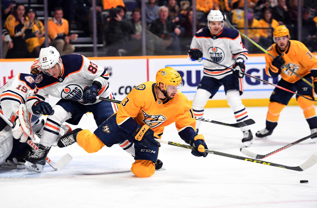 Predators beat Oilers 3-2 in shootout