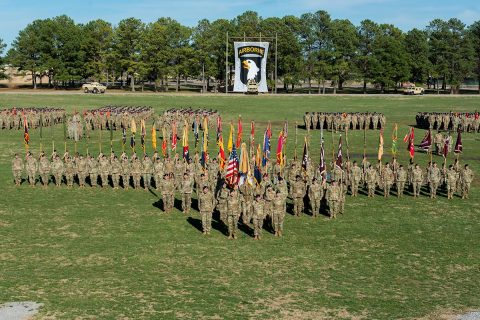 101st Airborne Division Review to be held May 3rd during Week of the Eagles 2019.