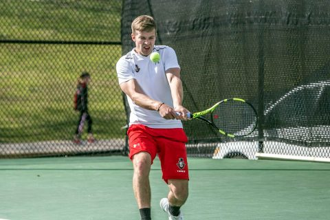 Austin Peay Men's Tennis gets swept by Kennesaw State Saturday. (APSU Sports Information)
