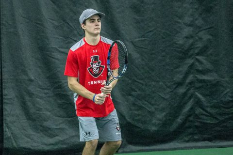 Austin Peay Menn's Tennis loses to Bethune-Cookman, 4-1. (APSU Sports Information)