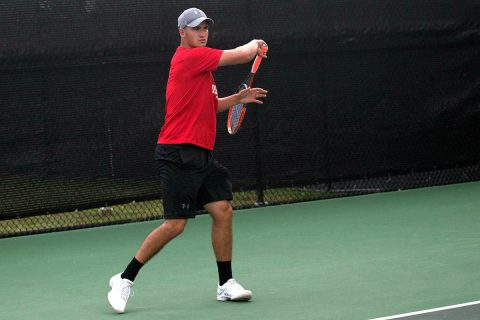 Austin Peay Men's Tennis loses 4-1 to Valdosta State Thursday. (APSU Sports Information)