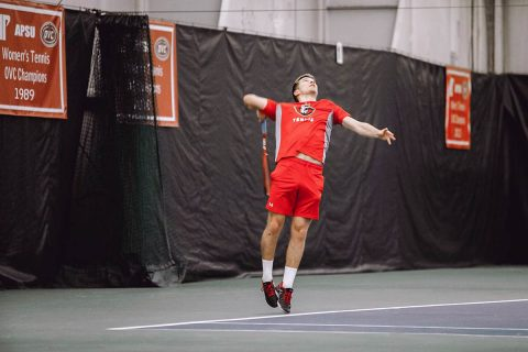 Austin Peay Men's Tennis hosts Martin Methodist, Friday. (APSU Sports Information)