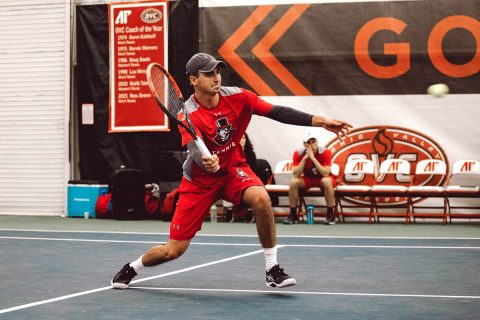 Austin Peay Men's Tennis defeats Martin Methodist at the Governors Tennis Center 7-0, Friday. (APSU Sports Information)