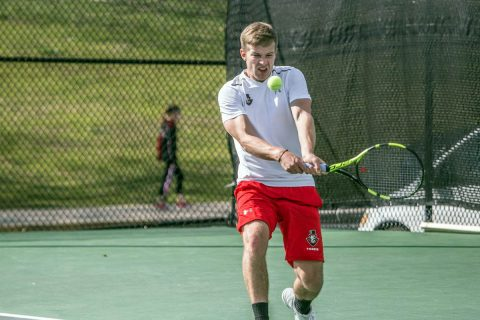 Austin Peay Men's Tennis plays Tennessee State at home Saturday to start OVC Season. (APSU Sports Information)