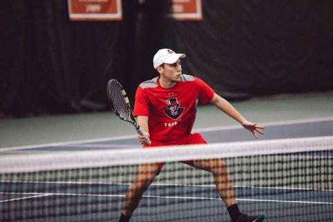 Austin Peay Men's Tennis sweeps Tennessee State at home, Saturday. (APSU Sports Information)