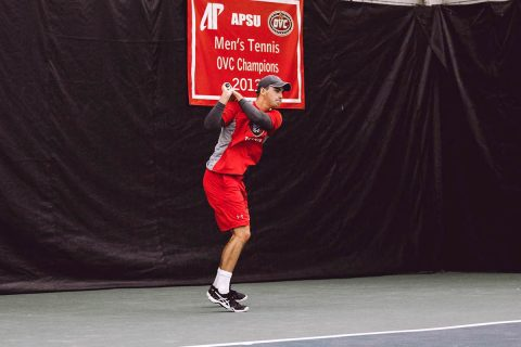 Austin Peay Men's Tennis hits the road Tuesday to take on North Alabama. (APSU Sports Information)