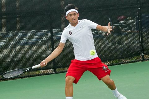 Austin Peay Men's Tennis falls Tuesday at North Alabama. (APSU Sports Information)