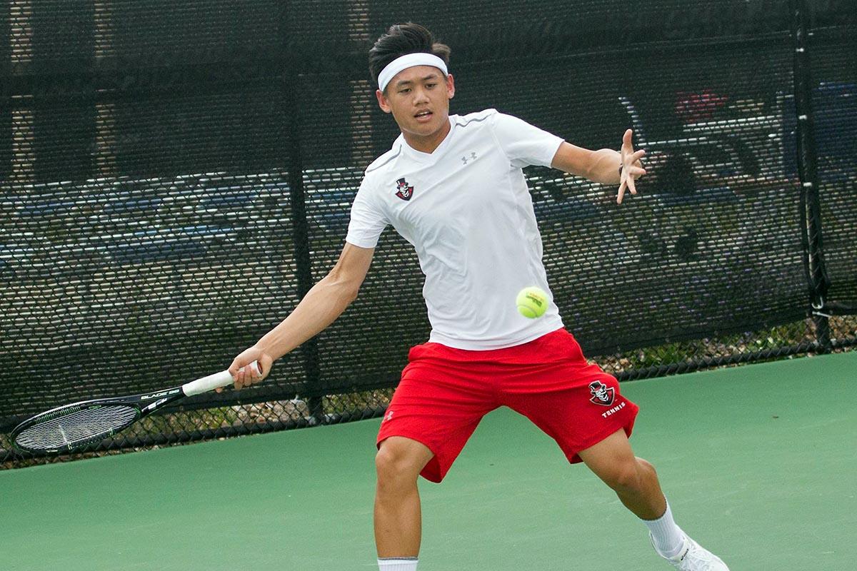 Austin Peay Men's Tennis falls Tuesday at North Alabama. (APSU Sports Information)