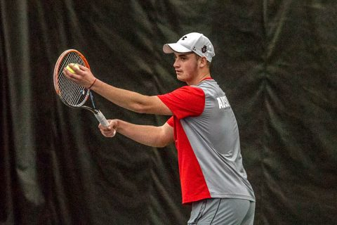 Austin Peay Men's Tennis hits the road Friday to take on Jacksonville State. (APSU Sports Information)