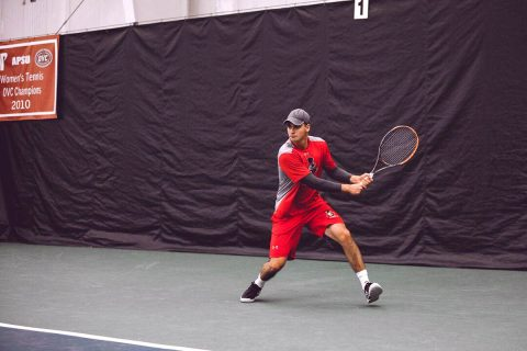 Austin Peay Men's Tennis loses to Jacksonville State Friday, 4-3. (APSU Sports Information)