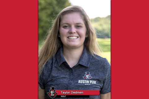 2018-19 APSU Women's Golf - Taylor Dedmen