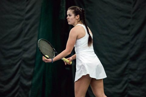 Austin Peay Women's Tennis dominates Kennesaw State Saturday, 4-0. (APSU Sports Information)