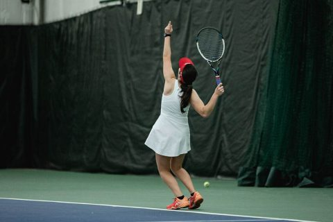 Austin Peay Women's Tennis beat Valdosta State Thursday to start spring season 10-0. (APSU Sports Information)