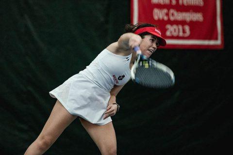 Austin Peay Women's Tennis crushes Dayton, 7-0. (APSU Sports Information)