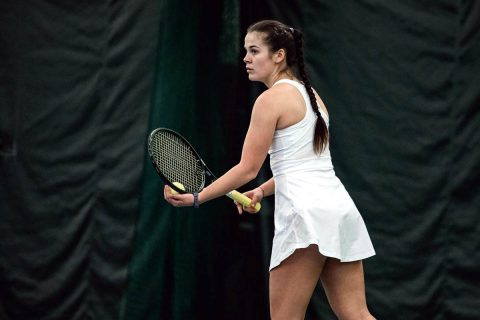 Austin Peay Women's Tennis beats Tennessee State at home 7-0, Saturday. (APSU Sports Information)