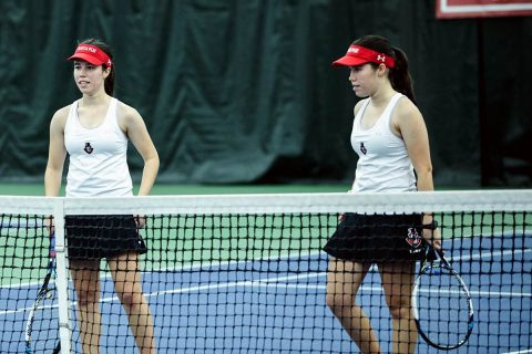 Austin Peay Women's Tennis looks to keep win streak alive at Jacksonville State, Friday. (APSU Sports Information)