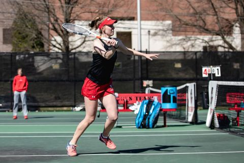 Austin Peay Women's Tennis gets 7-0 win at Jacksonville State, Friday. (APSU Sports Information)