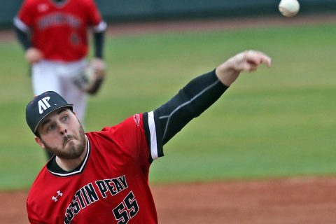 Austin Peay Baseball plays three game series against Tennessee Tech at home this weekend. (APSU Sports Information)