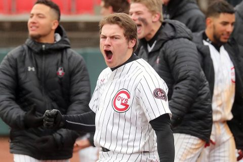 Austin Peay Baseball scores four in the fifth to beat Western Kentucky 5-3, Tuesday. (APSU Sports Information)