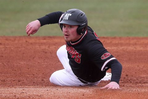 Austin Peay Baseball beats Southeast Missouri 4-2 Friday night for fifth win in a row. (APSU Sports Information)