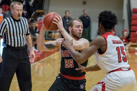 Austin Peay Men's Basketball starts OVC Tournament play, Thurday. (APSU Sports Information)