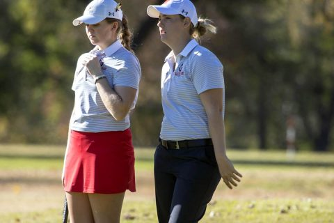 Austin Peay Women's Golf sit in sixth place after two rounds at Spring Break Shootout. (APSU Sports Information)
