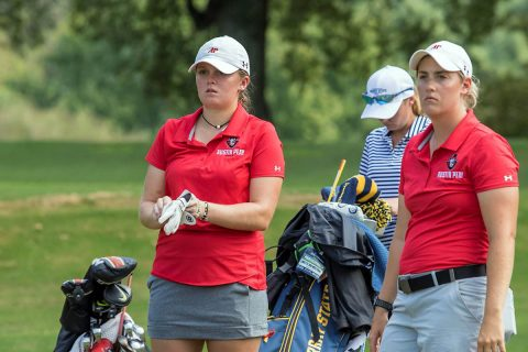 Austin Peay Women's Golf comes in fifth at Spring Break Shootout. (APSU Sports Information)