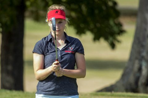 Austin Peay Women's Golf junior Meghann Stamps shoots a 75 in final round of the Colonel Classic. (APSU Sports Information)