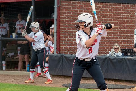 Austin Peay Women's Softball unable to come from behind against Ole Miss, Wednesday. (APSU Sports Information)