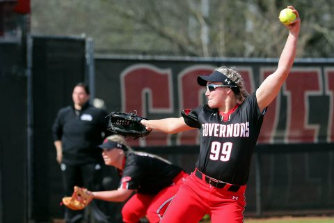 Austin Peay Softball loses to Dayton 8-7 then later beats Miami 4-1 Friday at Miami Invitational. (APSU Sports Information)