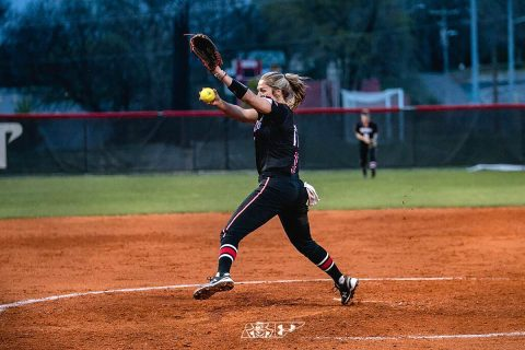 Austin Peay Softball sweeps Tennessee State Sunday, 9-1 and 4-1. (APSU Sports Information)